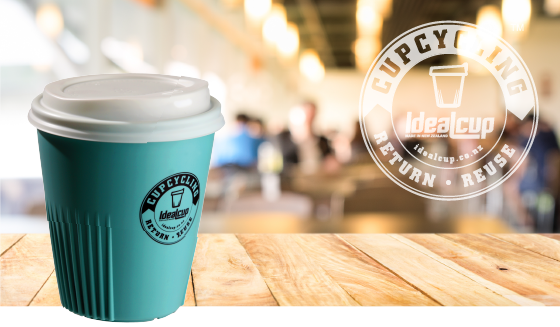 IdealCup is your Ideal reusable cup | Choose to reuse